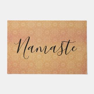 Namaste Indian Summer Mandala Copper ドアマット