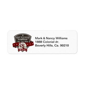 NameあなたのBicycle Companyのロゴをカスタマイズ ラベル