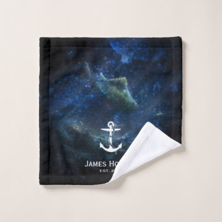Name and date   Nautical Gifts バスタオルセット