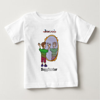 Names&Meanings -ヤコブ ベビーTシャツ