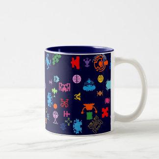 Nano未来のおもしろい ツートーンマグカップ