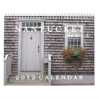 Nantucketのドア2012のカレンダー カレンダー