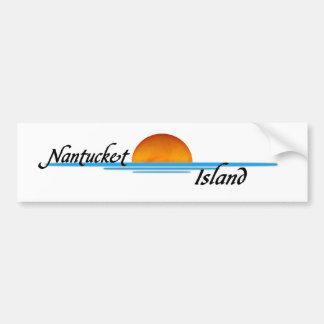 Nantucketの島 バンパーステッカー