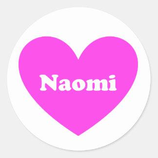 Naomi ラウンドシール