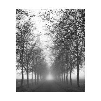 Napaの霧 キャンバスプリント
