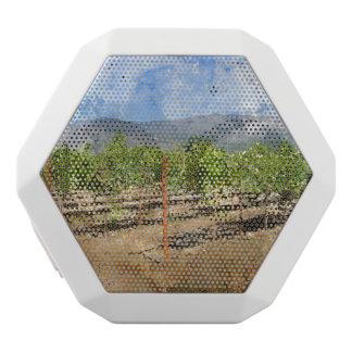 Napa Valleyのブドウ園 ホワイトBluetoothスピーカー