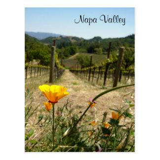 Napa Valleyの春 ポストカード