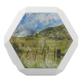 Napa Valleyの美しいブドウ園 ホワイトBluetoothスピーカー