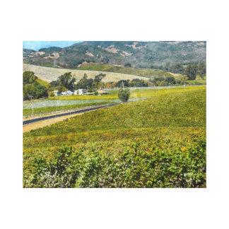 Napa Valleyカリフォルニア キャンバスプリント