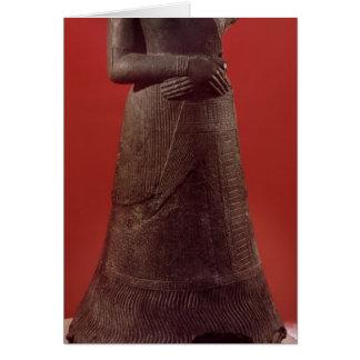 Napirasuの彫像、Elamite王の妻 カード