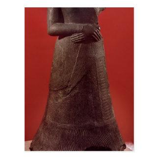 Napirasuの彫像、Elamite王の妻 ポストカード