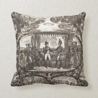 Napoleon Bonaparteおよび皇帝アレキサンダーTilsitのI クッション