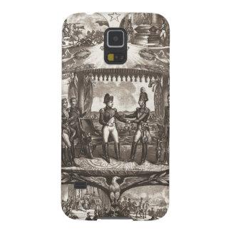 Napoleon Bonaparteおよび皇帝アレキサンダーTilsitのI Galaxy S5 ケース