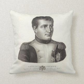 Napoleon Bonaparteのエレガントで旧式な版木、銅版、版画 クッション