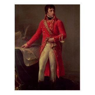 Napoleon Bonaparteの最初領事1802年 ポストカード