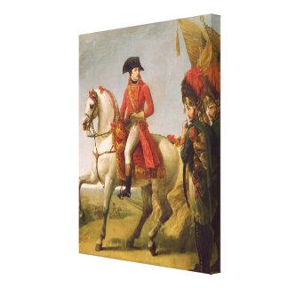Napoleon Bonaparteの最初領事 キャンバスプリント