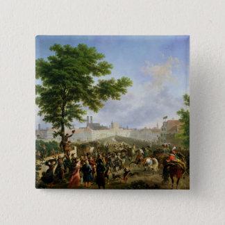 Napoleon Bonaparteの記入項目 5.1cm 正方形バッジ