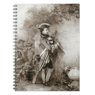 Napoleon Bonaparte 1826年 ノートブック