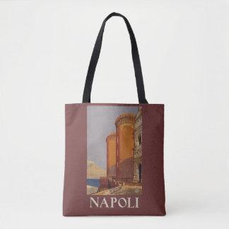 Napoliナポリイタリアのヴィンテージ旅行バッグ トートバッグ