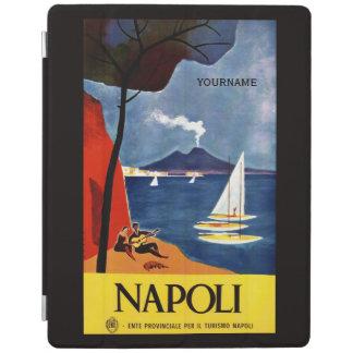 Napoliナポリイタリアのヴィンテージ旅行装置カバー iPadスマートカバー