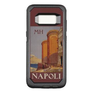 Napoli (ナポリ)のカスタムなモノグラムの電話箱 オッターボックスコミューターSamsung galaxy s8 ケース