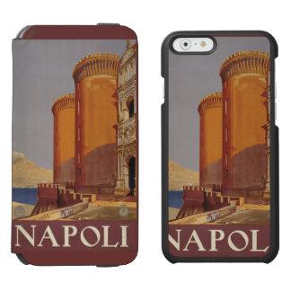 Napoli (ナポリ)イタリアのヴィンテージ旅行カスタムのケース incipio watson™ iPhone 6 ウォレットケース