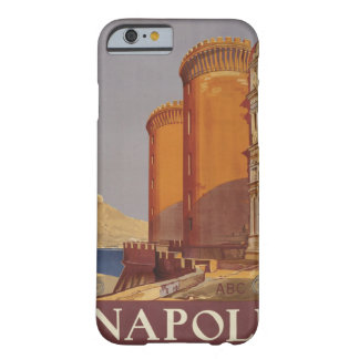 Napoli (ナポリ)イタリアのヴィンテージ旅行習慣のケース barely there iPhone 6 ケース