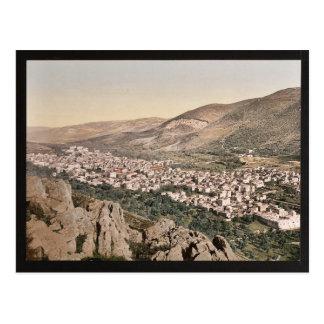 Napulusの谷、(すなわち、ナブルス)、聖地cla ポストカード