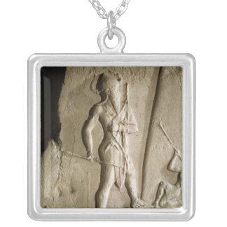 Naram罪の勝利の石碑 シルバープレートネックレス