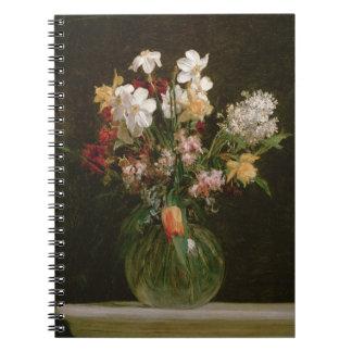Narcisses Blancs、JacinthesとTulipes 1864年 ノートブック