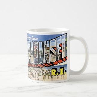 Narragansettのマグ コーヒーマグカップ