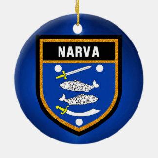 Narvaの旗 セラミックオーナメント