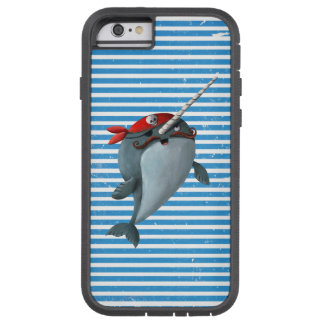Narwhalかわいい海賊 Tough Xtreme iPhone 6 ケース