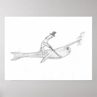 Narwhalのすばらしいライダー ポスター