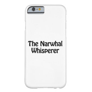 narwhal囁くもの barely there iPhone 6 ケース