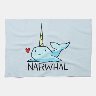 Narwhal キッチンタオル