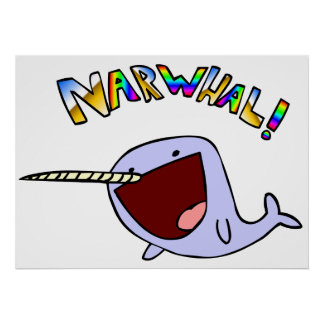Narwhal! ポスター