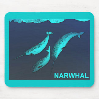 Narwhal マウスパッド