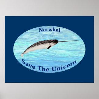 Narwhal -ユニコーンを救って下さい ポスター