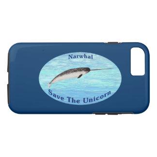 Narwhal -ユニコーンを救って下さい iPhone 8/7ケース