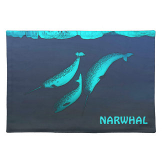 Narwhal ランチョンマット