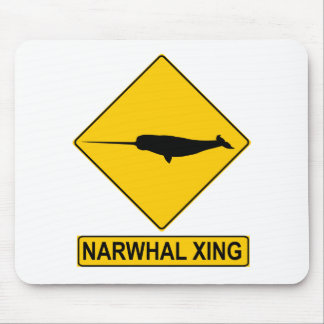 Narwhal X-ingの印 マウスパッド