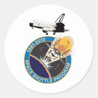 NASAのスペースシャトルプログラム ラウンドシール