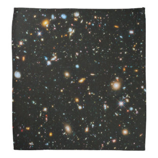 NASAのハッブル超深い分野の銀河系 バンダナ