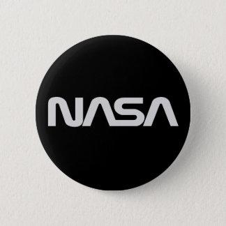 NASAのヘビのロゴの暗闇 5.7CM 丸型バッジ