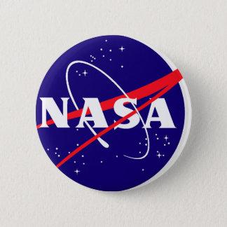 NASAのミートボールのロゴ 缶バッジ