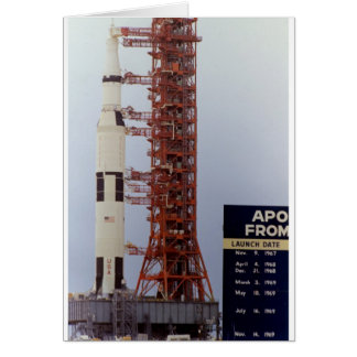 NASAアポロ15土星Vは出します カード