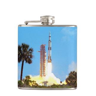 NASAアポロ16土星Vロケットの進水 フラスク