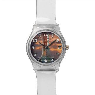NASAアポロSoyuzの進水車の日の出の発射点 腕時計