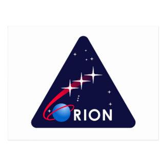 NASAオリオンのロゴ ポストカード